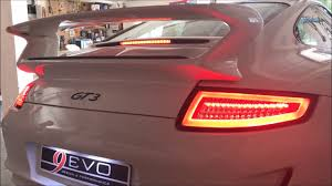 911 Led Light Bar 9 Evo Feux Led Lightbar Pour Porsche 997 Look 991 Red Crystal