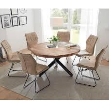 Mango Esszimmer Tisch Mit Mikado Fuß Atrodata