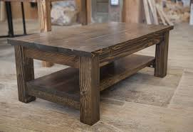 coffe tables hand crafted solid wood