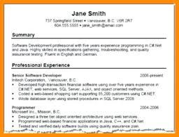 Resume Summary Examples Fascinating May 40 Successmakerco