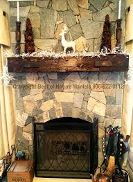 decorating rustic fireplace mantels with candles and stone wall for idea 12 rustic fireplace mantels s38 mantels