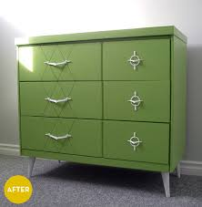 modern painted furniture. Painted Mid Century Modern Furniture Green Wash