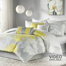 magnificent gray and yellow bedding kohls m93 about home design style with gray and yellow bedding