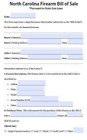 Bill Of Sale For Car Nc Nc Bill Of Sale Form Magdalene Project Org