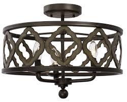 Whittaker 3-Light Semi Flush Mount | Ceiling lights, Semi flush ceiling  lights, Semi flush mount lighting