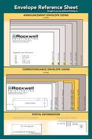 Envelope Size Chart Pdf Envelope Sizes