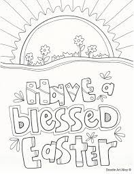 Coloring Attractive He Is Risen Easter Cross Coloring Pages Colorings