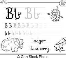 書きなさい b 手紙 学びなさい 着色 b 技能 Worksheet