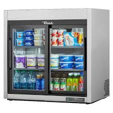 true tsd 09g hc ld 36 3 shelf countertop refrigerated merchandiser with