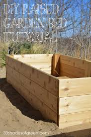 how to make raised garden beds. Easy DIY Raised Garden Bed Tutorial How To Make Beds