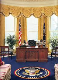 us president office. Each President Can Refresh And Redecorate The Oval Office When He Comes Into Office, But Us I