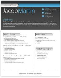 Modern Resume Templates For Microsoft Word - Kleo.beachfix.co