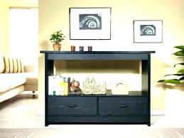 black finish console sofa table with drawer sofa table decor ideas console behind sofa sofa table