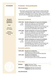 Pretty Formato De Resume 2016 Images Examples Professional Resume
