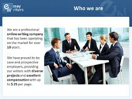 company presentation essaywriters net who we are we are a  company presentation essaywriters net 2 who