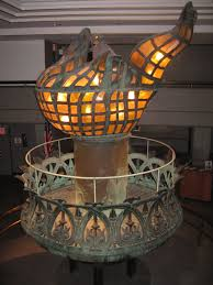 original torch of the statue of liberty