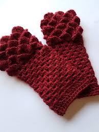 Dragon Scale Fingerless Gloves Pattern Free Unique Design Inspiration