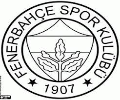Kleurplaat Schild Van Fenerbahçe Sk Kleurplaten