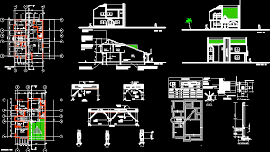 homely design autocad plans for houses 3 house 2d in autocad drawing