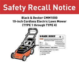 lawn mower parts labeled. black and decker cmm1000 mower recall lawn parts labeled d