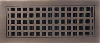 Decorative Grates Registers Scroll Design Cast Iron Heat Grate Or Register 10 1 4 X 12 1 4