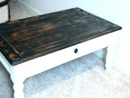 black distressed coffee table contemporary with tables off white idea 2 diy blac