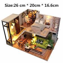 Creative DIY Doll House <b>Модель</b> Nordic Mini House <b>Собранная</b> ...
