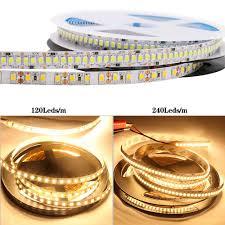 12V 2835 Dây Đèn LED Led Dẻo Băng Đèn 60/120/240/LED/M Đèn Led Dây Chống  Nước Nhà tủ Đèn 5M|Dải Đèn LED