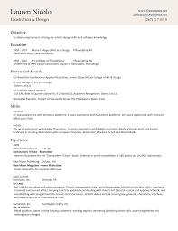 Gallery Of Adobe Resume Template