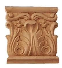 wood furniture appliques. capitals wood furniture appliques