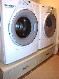 diy washer dryer pedestal washer and