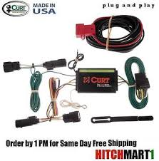 kit curt class 3 trailer hitch wiring harness 13186 56164 for ford for 2013 2016 ford escape curt trailer hitch wiring 4 flat connector 56164