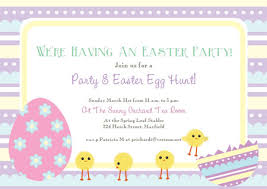 Easter Invitations Template Free Printable Easter Cards Invitations 2