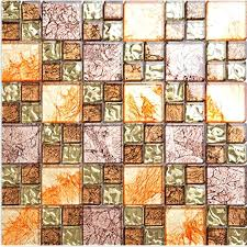 glass mosaic tiles yellow glass mosaic tile plated glass hand painted art design wall tile hall glass mosaic tiles