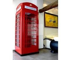 London Telephone Booth Decor