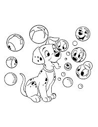 101 Dalmatians Coloring Pages Google Søgning