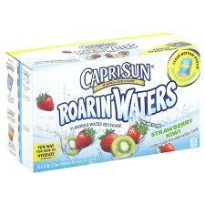 capri sun water sun waters flavored water beverage strawberry kiwi fridge ready pack be my per capri sun water