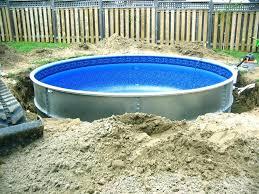 semi inground pool ideas. Semi Inground Pool Pictures Ideas Kits Deck Inside Pools Backyard Designs With . C