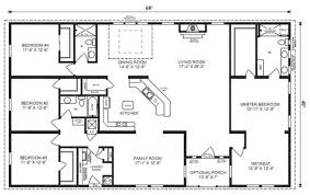 four bedroom house plans. Unique Bedroom Ranch House Floor Plans 4 Bedroom Love This Simple No Watered Space Plan   Add A Wraparound Porch Garage With Additional Storage Room And It Would Be  On Four Bedroom House Plans E