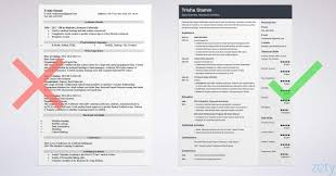 How Many Of You Use Fancy Looking Resumes Example Is From Zetycom