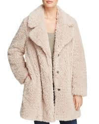 sage collective faux fur teddy coat 295