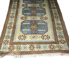 hand knotted wool area rug shedding sand