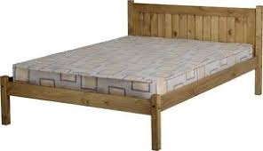 distressed wood bed.  Distressed Image Is Loading MAYASMALLDOUBLE4ftSOLIDDISTRESSEDWAXPINE Throughout Distressed Wood Bed D
