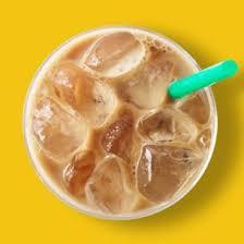 iced starbucks blonde vanilla latte