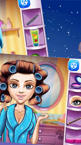 with curly hair makeup games screenshot 2
