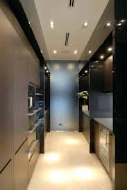 lighting for galley kitchen. galley kitchens modern design with recessed lighting fixturesgalley kitchen track ideas layout for d