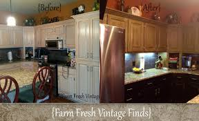 oak kitchen cabinets in annie sloan cau grey and reclaim licorice part 2 and reveal