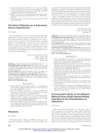 The Role of Aldosterone in Pulmonary Venous Hypertension: Response