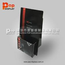 Single Book Display Stand Small Template stand counter cardboard book display stands View 20