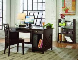 computer desk for home office. stylish cappuccino finish home office computer desk pictures for